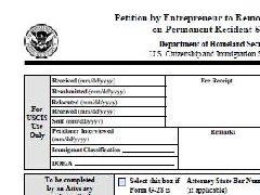 注意   7月24日起,移民局不再受理旧版I-829申请表