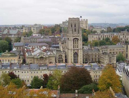 布里斯托大学 University of Bristol 工程硕士专业