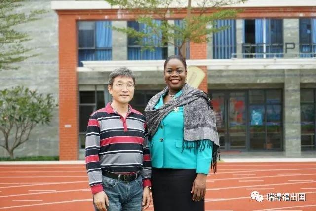 安提瓜和巴布达投资公民部长到访瑞得福国际学校